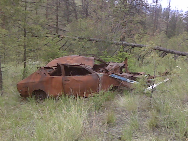 Rusty Car #8